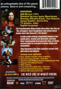 Alucarda – Contraportada DVD