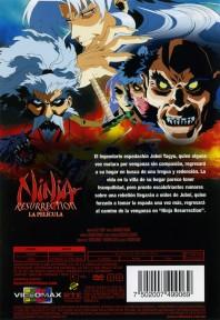 Ninja Resurrection Contraportada DVD
