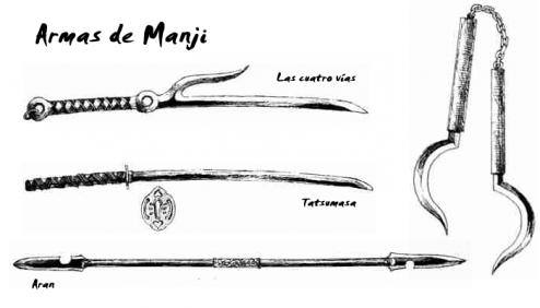 Armas de Manji